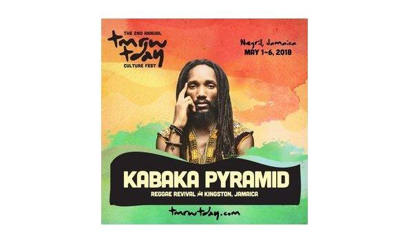Big image kabaka pyramid tmrw tday festival