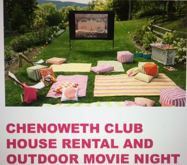 - Chenoweth Clubhouse And Outdoor Movie Night Package
