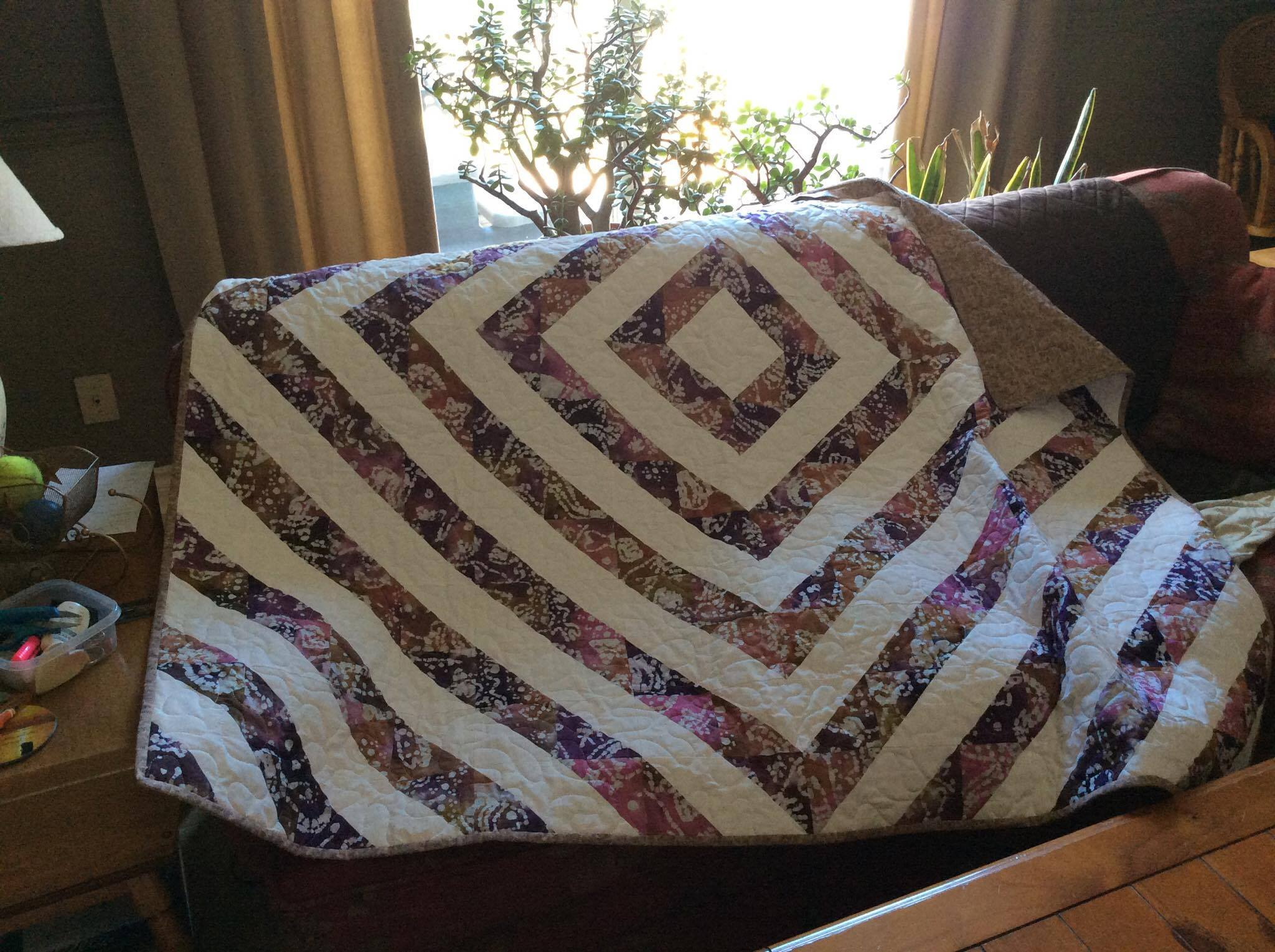 Quilt healing blanket for Jake quilted bedding