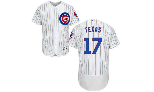 Hurricane Harvey Cubs Jersey