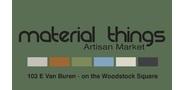 Sponsor logo material things full logo