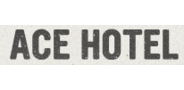 Sponsor logo ace hotel logo
