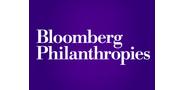 Sponsor logo bloomberg philanthropies logo
