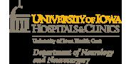 Sponsor logo university of iowa neuro logo