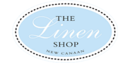 Sponsor logo the linen shop logo
