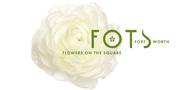 Sponsor logo flowers on the square logo